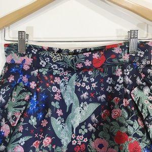 Frank & Oak Skirts - Frank and Oak Jacquard Floral Mini Skirt XS